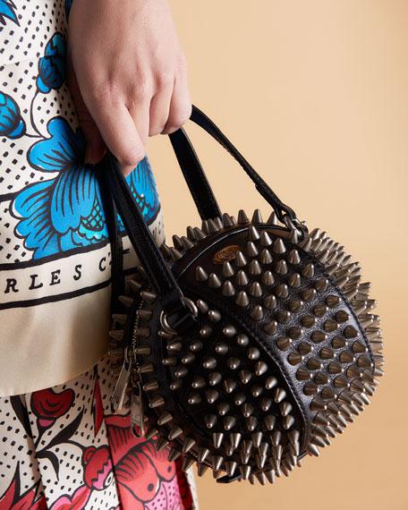 Tifosa Mini Studded Sphere Shoulder Bag