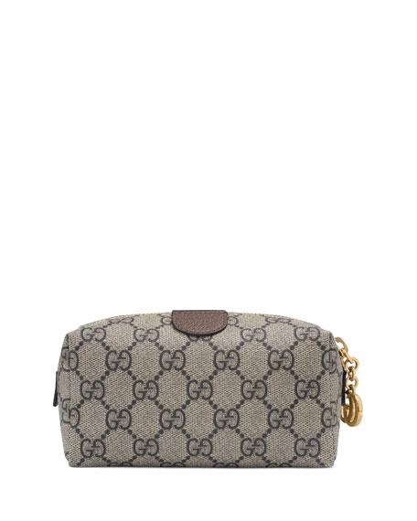 fa384d8c3724 Gucci Ophidia Mini GG Supreme Cosmetics Clutch Bag