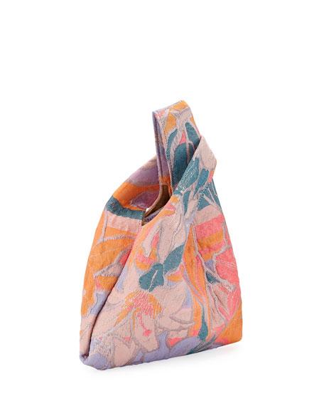 Mini Shopper Jacquard Tech Top Handle Bag