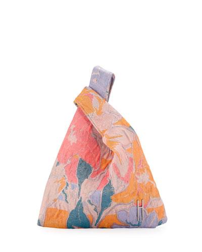 Mini Shopper Jacquard Tech Tote Bag