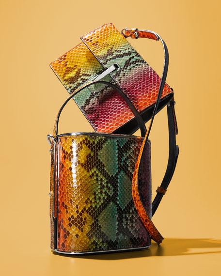 Field Python Top Handle Bag