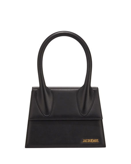 Jacquemus Le Grand Chiquito Leather Top-Handle Bag
