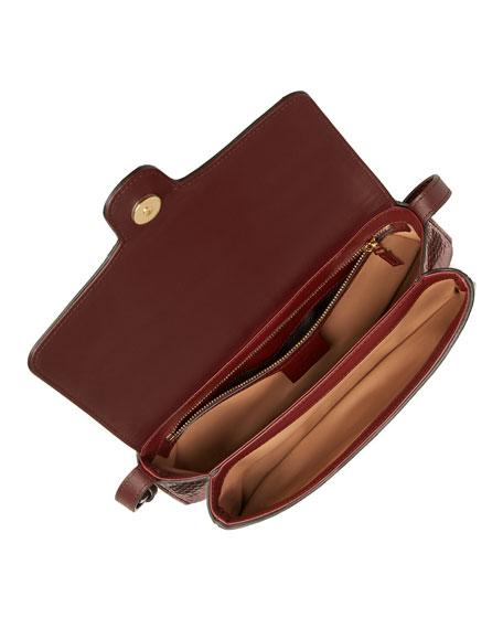 Arli Small Python Shoulder Bag
