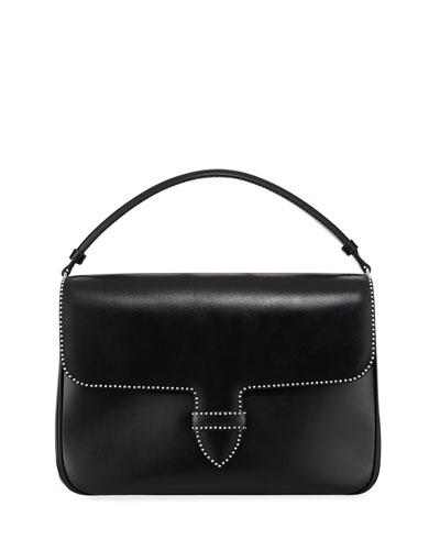 Smooth Studded Crossbody Bag