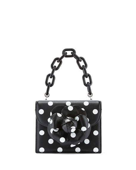 Tro Mini Polka Dot-Print Crossbody Bag