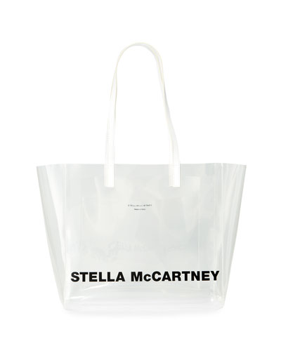 Clear Logo Tote Bag