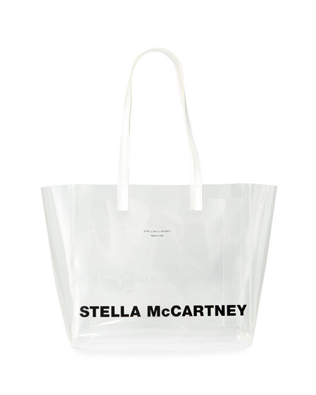 Image 1 of 1: Clear Logo Tote Bag