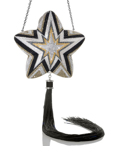 Star Kaboom Crystal Clutch Bag