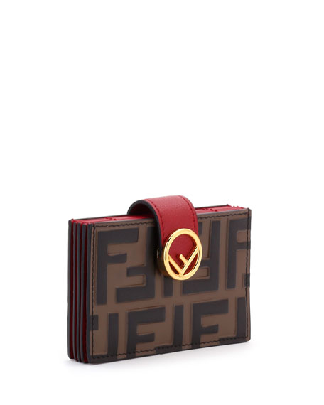 FF-Embossed Micro Cruise Wallet