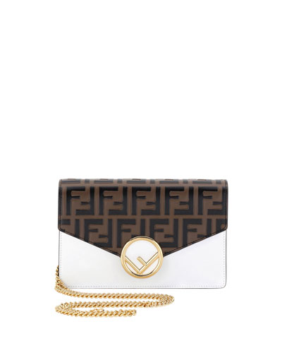 Touch Of FF Cruise Wallet Crossbody Bag