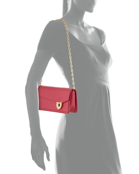 Secret Leather Pochette Clutch Bag
