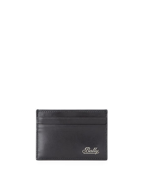 Bally Men's Bhar Leather Card Holder