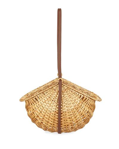 Wicker Leuca 19 Basket Bag