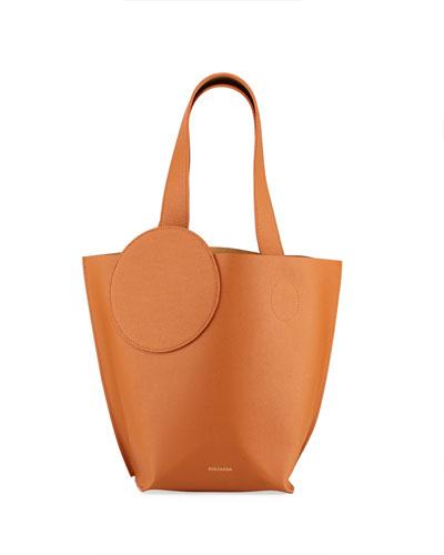 Leather Mini Eider Tote Bag