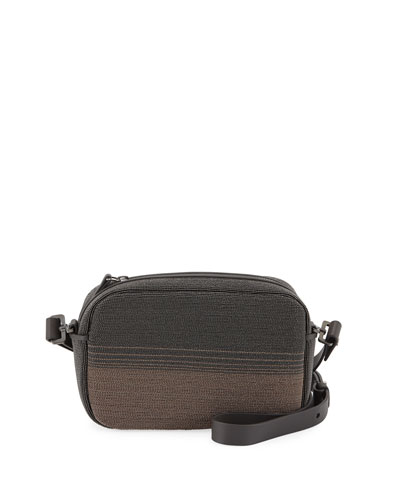 Shiny Degrade City Crossbody Bag