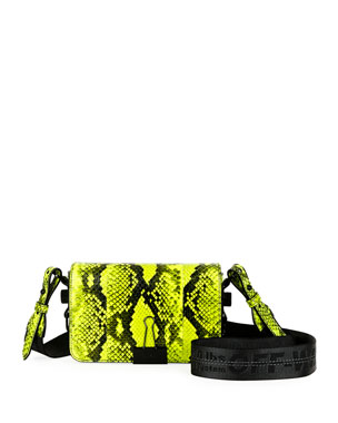 Off-White Printed Mini Flap Shoulder Bag
