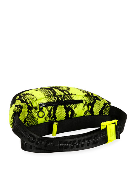 Python Nylon Fanny Pack Belt Bag
