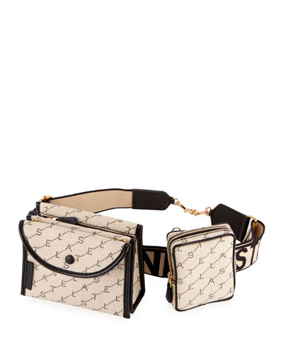 Monogram Utility Belt Bag with Detachable Pouches