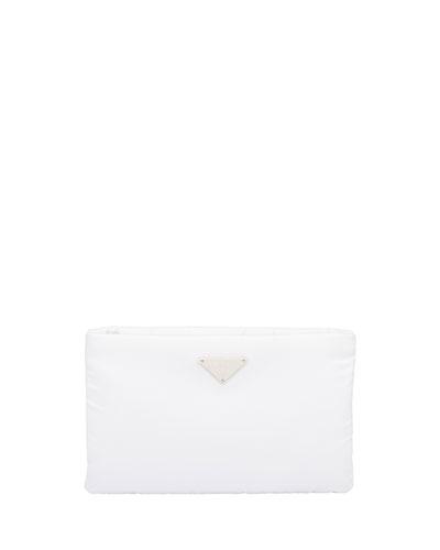 Vela Flat Crossbody Bag