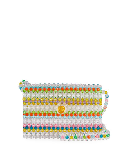 Merry Beaded Crossbody Shoulder Bag