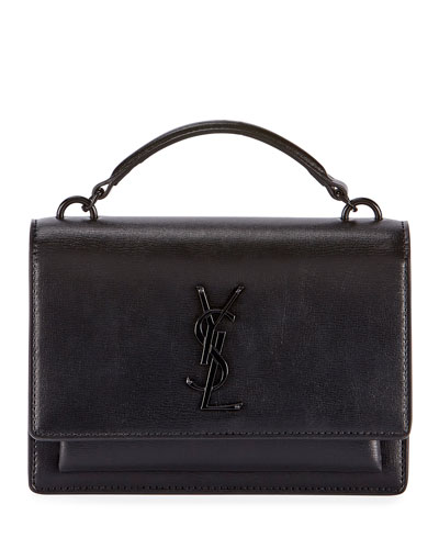 2bf5732ed67 Sunset YSL Monogram Wallet on Chain - Black Hardware Quick Look. Saint  Laurent