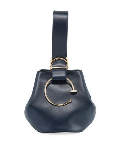 Kira Kira Leather Bucket Bag