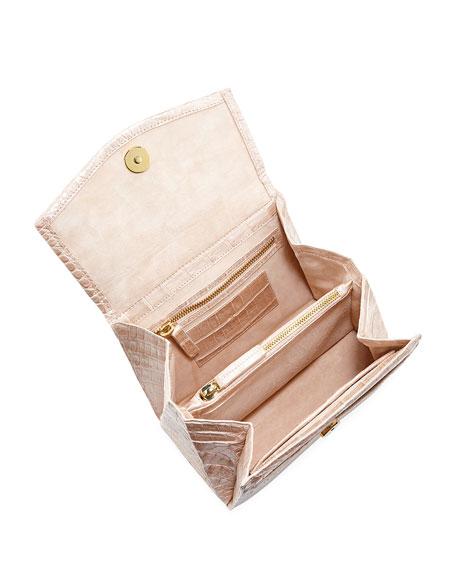 Lolita Mini Crocodile Top Handle Bag