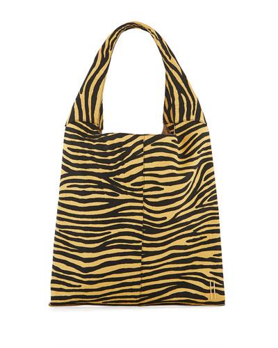 Grand Shopper Tote Bag  Zebra