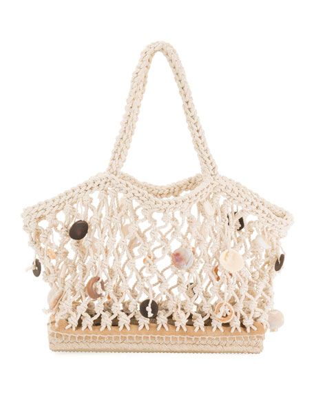 Image 1 of 1: Small Espadrille Tote Bag