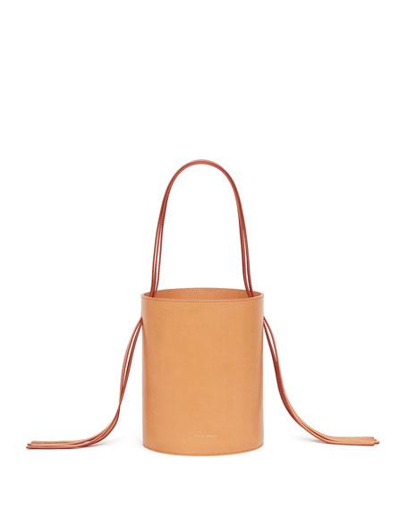 Vegetable Tanned Fringe Bucket Bag