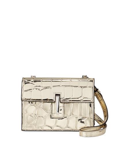 Mini Soft Metallic Crossbody Clutch Bag 5fb5204405ddc