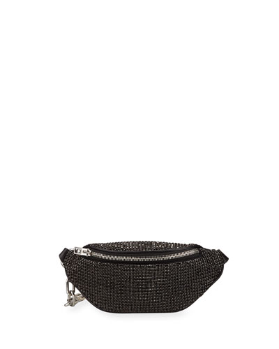 Attica Rhinestone Soft Mini Belt Bag