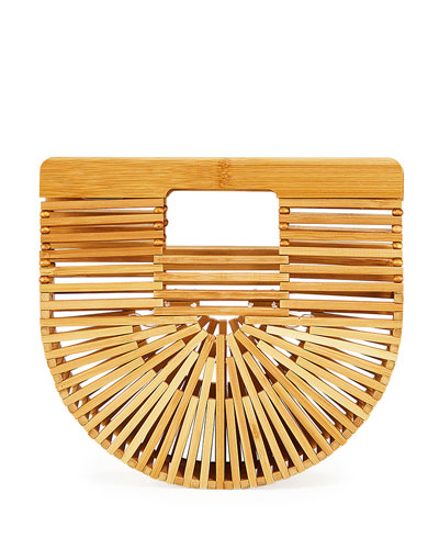 Gaia's Ark Micro Bamboo Crossbody Bag
