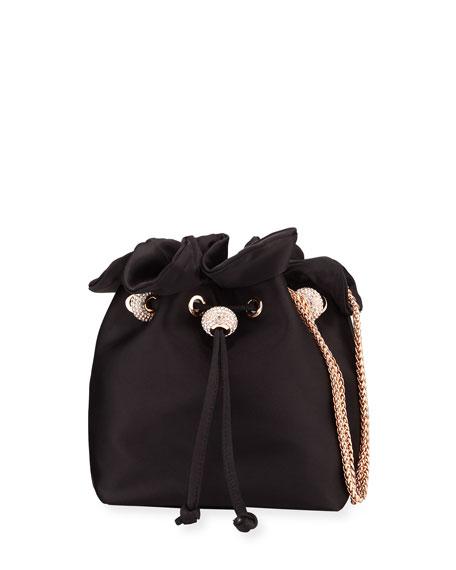 Sophia Webster Shoulder bags EMMIE SATIN DRAWSTRING SHOULDER BAG