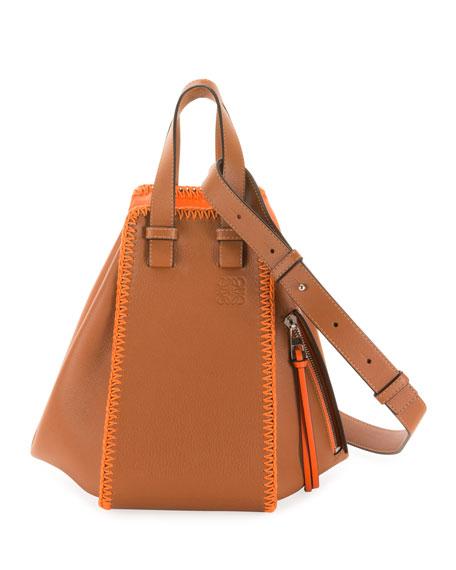 x Paula's Ibiza Hammock Whipstitch Shoulder Bag
