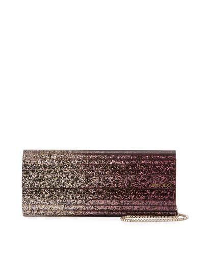 Sweetie Degrade Glittered Clutch Bag