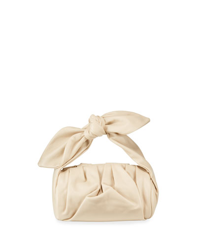 Nane Satin Top Handle Bag