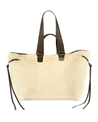 Shearling Bagya Tote Bag
