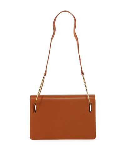 Dora Ring Leather Shoulder Bag