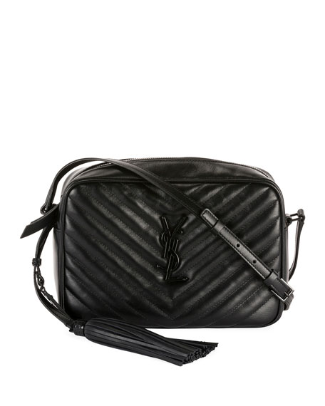 393f85b5668 Saint Laurent Lou Medium Monogram YSL Calf Crossbody Bag