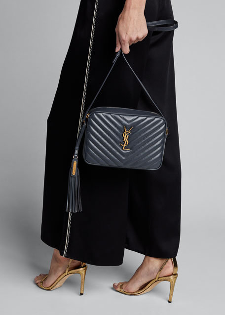 Lou Medium Calf Crossbody Bag