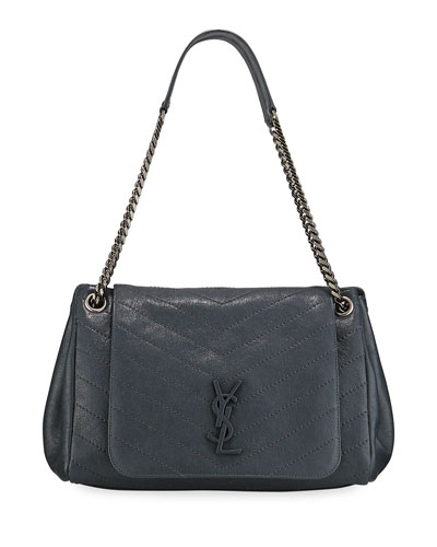 6195a77e484 Nolita Medium Monogram YSL Double-Chain Shoulder Bag Quick Look. Saint  Laurent