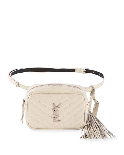Lou Monogram YSL Quilted Belt Bag