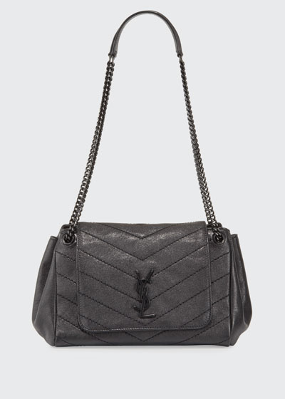 Nolita Small Chevron Shoulder Bag