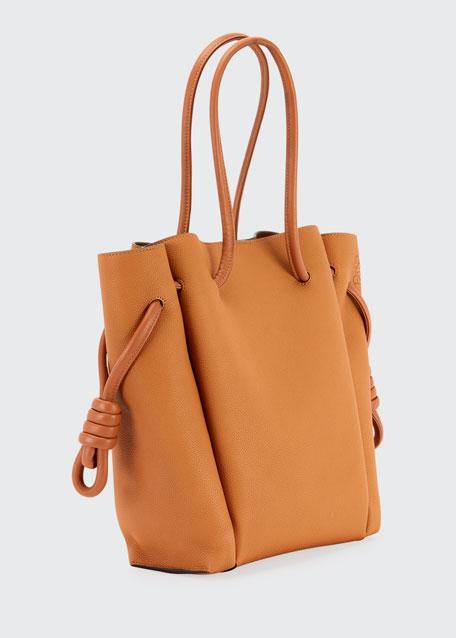 Flamenco Knot Pebbled Tote Bag