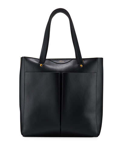 Nevis Smooth Leather Tote Bag