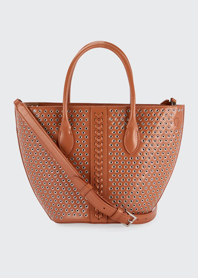 Latifa Mini Cuir Lux Tote Bag
