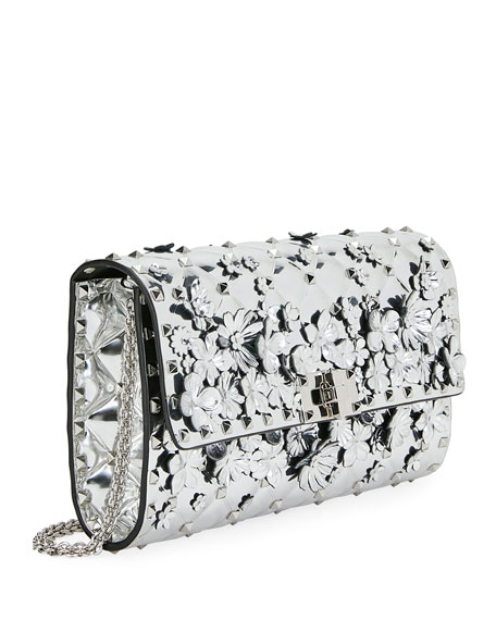 Spike It Flower Shoulder Bag