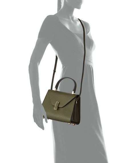 Smooth Calf Mini Iside Top Handle Bag