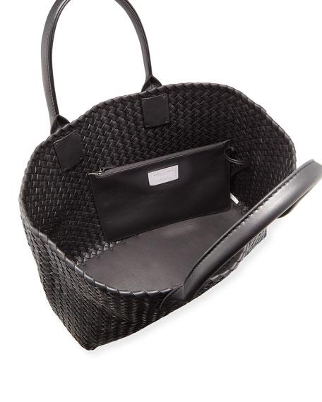 Napa Leather Cabat Tote Bag